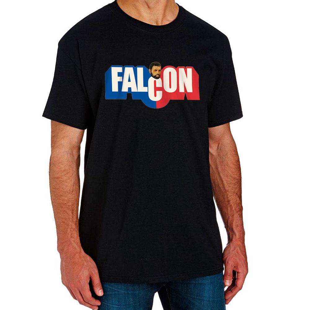Camiseta Falcon Preta - estrela 20f5a9ed06c7e