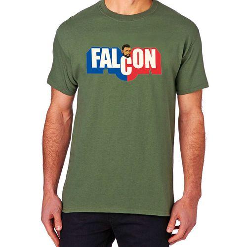Camiseta Falcon Verde Musgo Produto Estrela