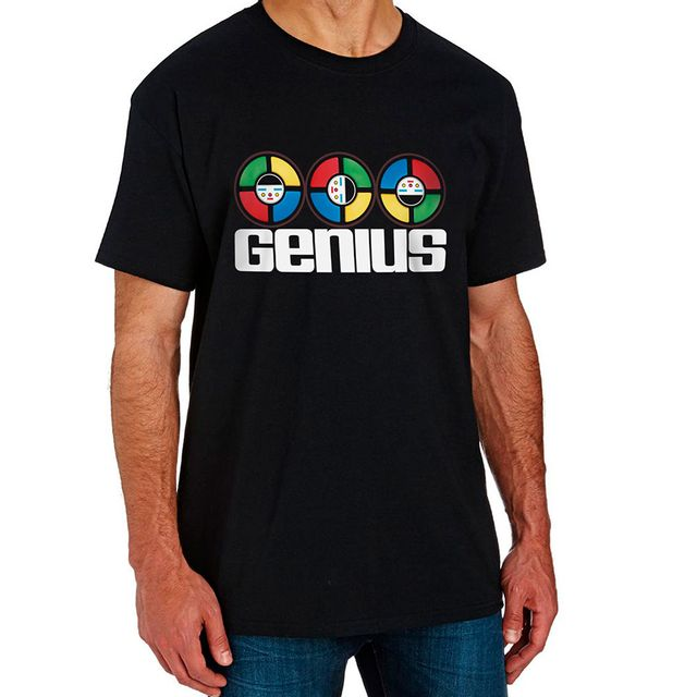 Camiseta Genius Preta Produto Estrela
