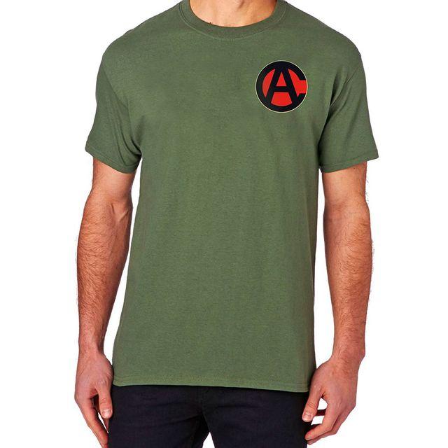 Camiseta Comandos em Ação Verde Musgo Produto Estrela