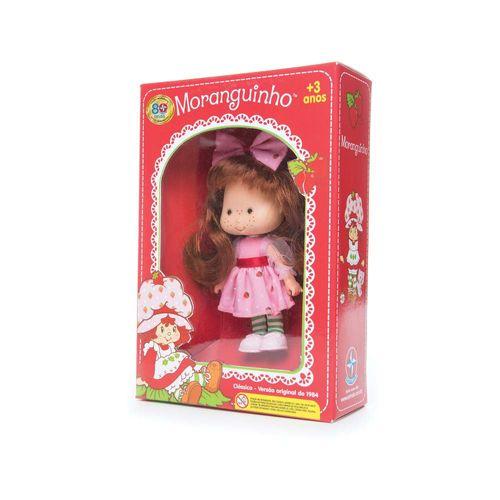 Boneca Moranguinho 15,5 cm Embalagem Estrela