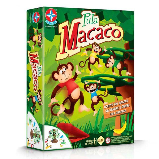 Jogo Pula Macaco Embalagem Estrela