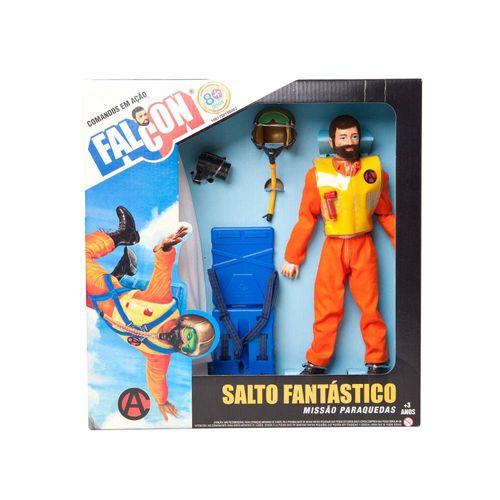 Boneco Falcon 30 cm Salto Fantástico  Embalagem Estrela