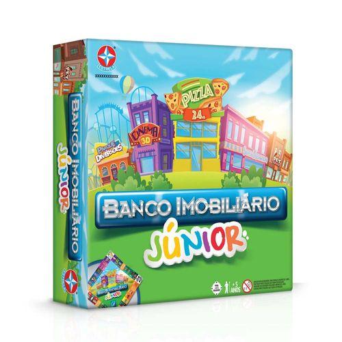 Jogo Banco Imobiliário Júnior Embalagem Estrela