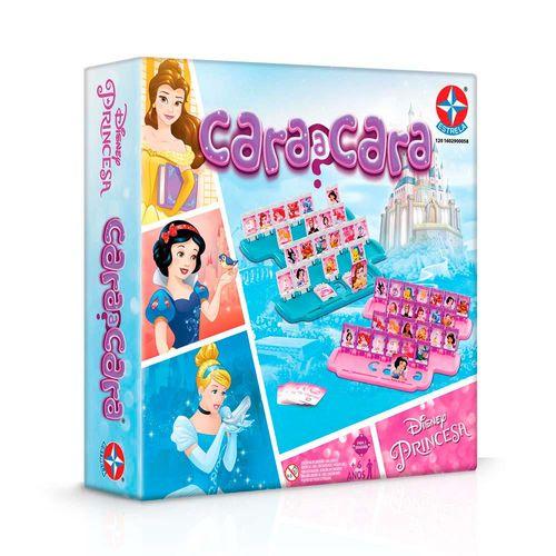 Jogo Cara a Cara Princesas Embalagem Estrela