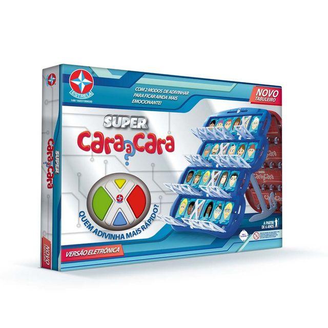Jogo Super Cara a Cara Embalagem Estrela