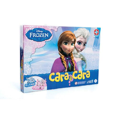 Jogo Cara a Cara Frozen Embalagem Estrela