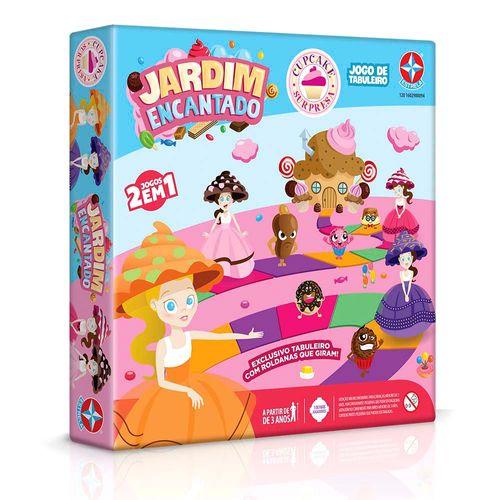 Jogo Jardim Encantado Cupcake Surpresa Embalagem Estrela