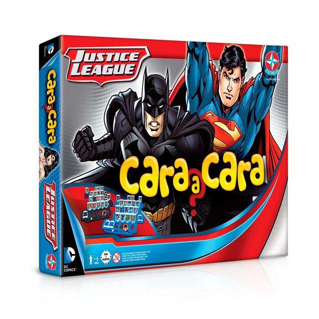 Jogo Cara a Cara Liga da Justiça Embalagem Estrela