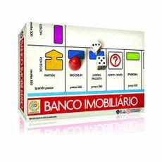 Jogo Banco Imobiliário Retrô Embalagem Estrela