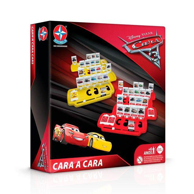 Jogo Cara a Cara Carros 3 Embalagem Estrela