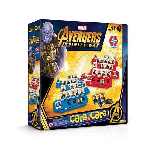 Jogo Cara a Cara Vingadores Guerra Infinita Embalagem Estrela