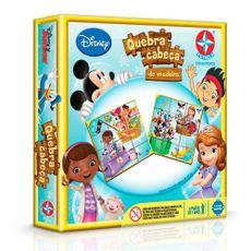 Quebra-Cabeça de Madeira Disney Junior 12 peças Embalagem Estrela