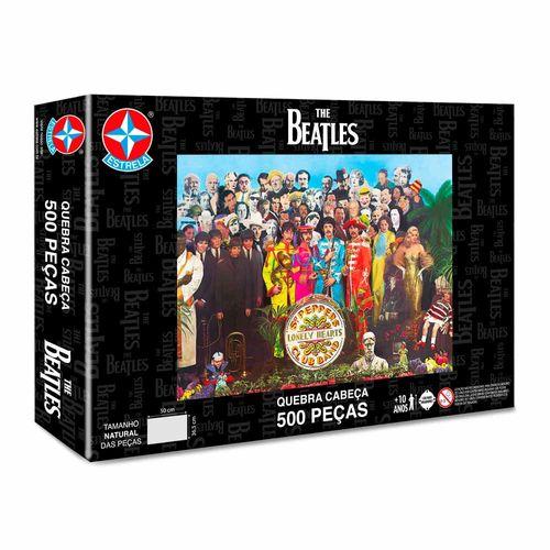 Quebra-Cabeça The Beatles 500 peças Embalagem Estrela