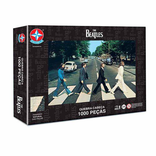 Quebra-Cabeça The Beatles 1000 peças Embalagem Estrela
