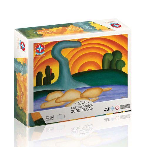 Quebra-Cabeça Tarsila do Amaral 2000 peças Embalagem Estrela