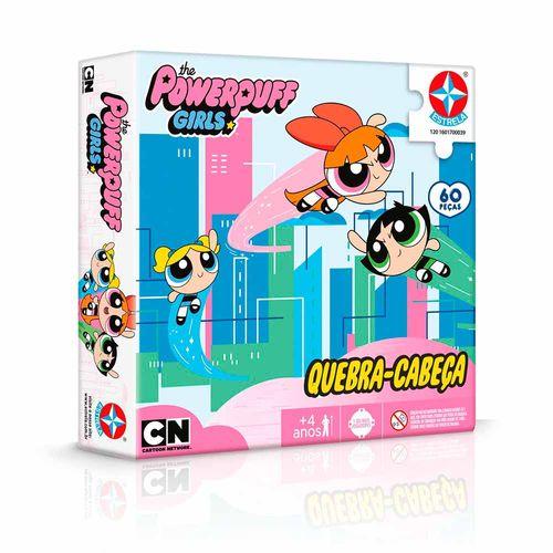 Quebra-Cabeça As Meninas Super Poderosas 60 peças Embalagem Estrela