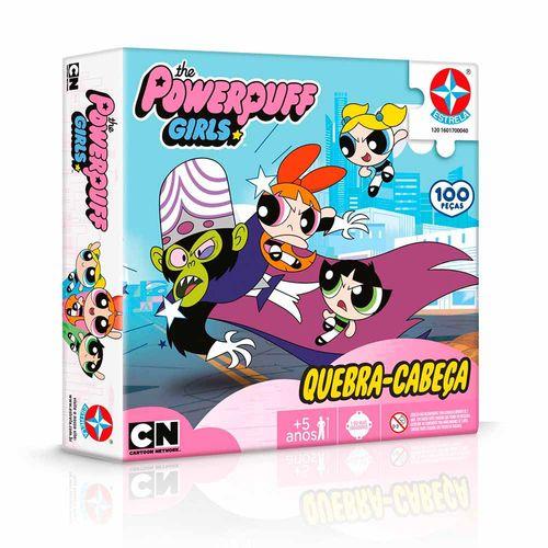 Quebra-Cabeça As Meninas Super Poderosas 100 peças Embalagem Estrela