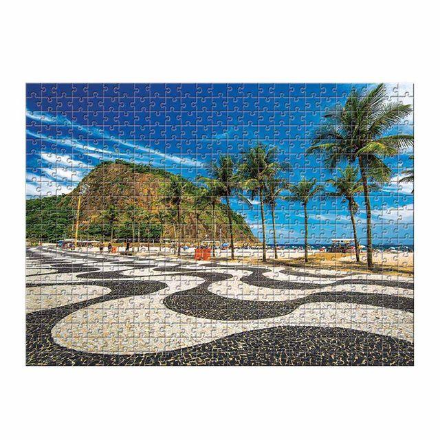 Quebra-Cabeça Copacabana 500 peças Produto Estrela