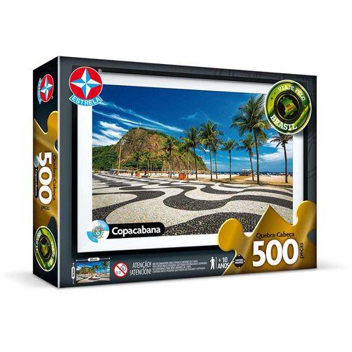 Quebra-Cabeça Copacabana 500 peças Embalagem Estrela