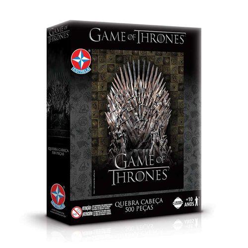 Quebra-Cabeça Game of Thrones 500 peças Embalagem Estrela