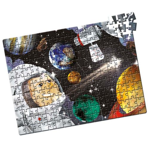 Quebra-Cabeça Sistema Solar 200 peças Produto Estrela