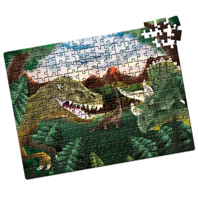 Quebra-Cabeça Dinossauros 200 peças Produto Estrela