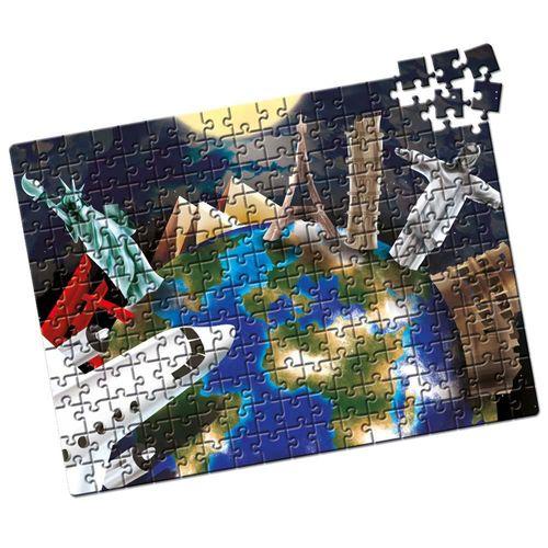 Quebra-Cabeça Capitais do Mundo 200 peças Produto Estrela