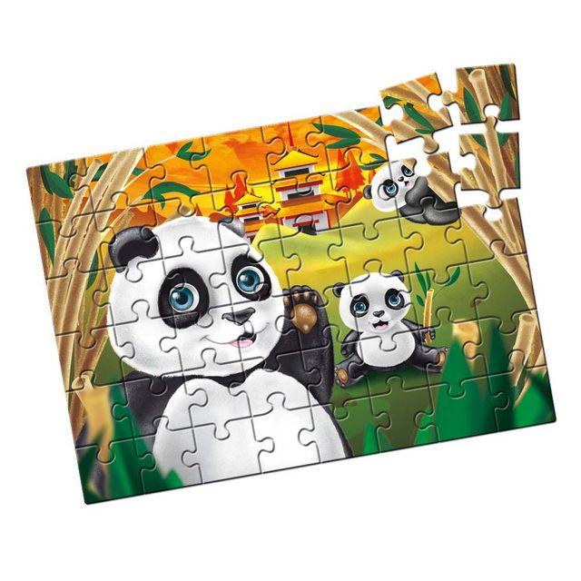 Quebra-Cabeça Pandas 48 peças Produto Estrela