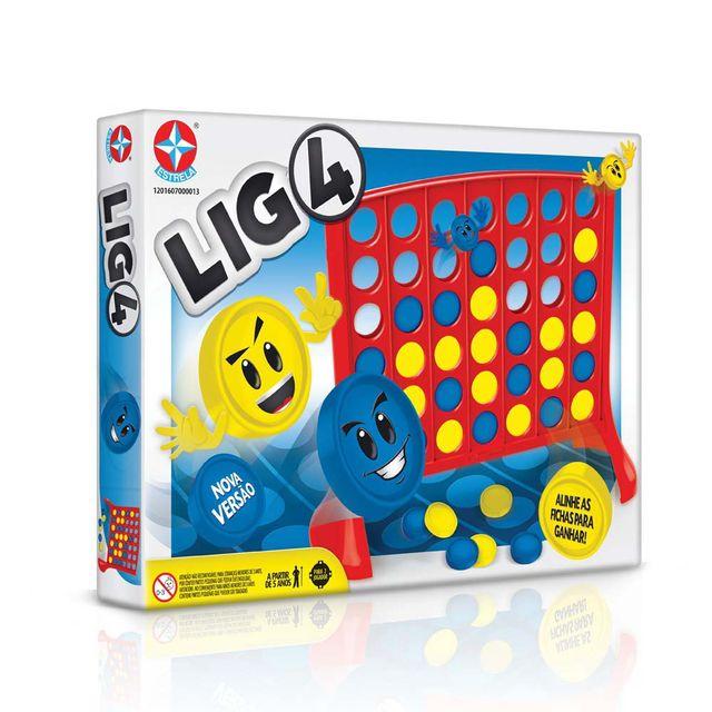 Jogo Lig4 Embalagem Estrela