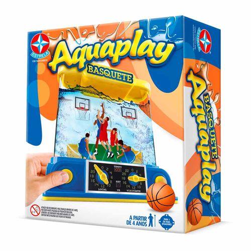 Jogo Aquaplay Basquete Embalagem Estrela