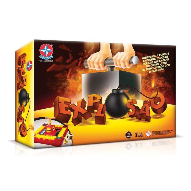 Jogo Explosão Embalagem Estrela