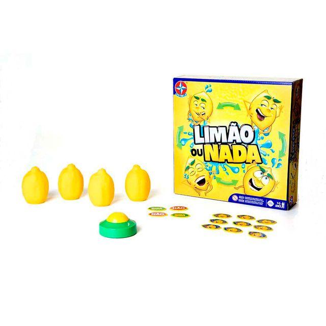 Jogo Limão ou Nada Embalagem e Produto Estrela