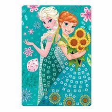 Quadros para Decorar Frozen Anna e Elsa Produto Estrela