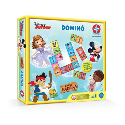 Jogo Dominó Disney Junior Embalagem Estrela