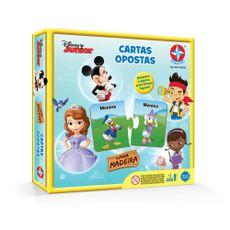 Jogo Cartas Opostas Disney Junior Embalagem Estrela
