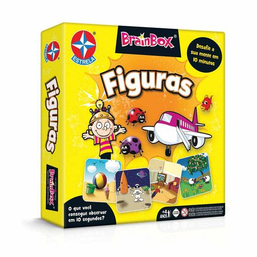 Jogo Brainbox Figuras Embalagem Estrela