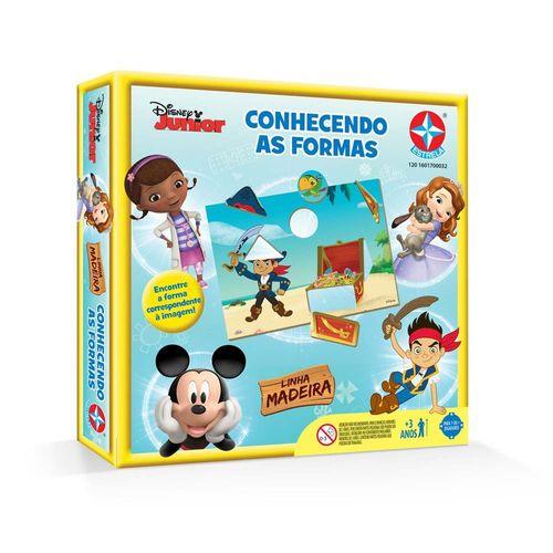 Jogo Conhecendo as Formas Disney Junior Embalagem Estrela