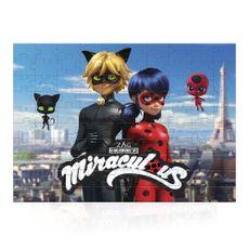 Quebra-Cabeça Ladybug Miraculous 100 peças Produto Estrela