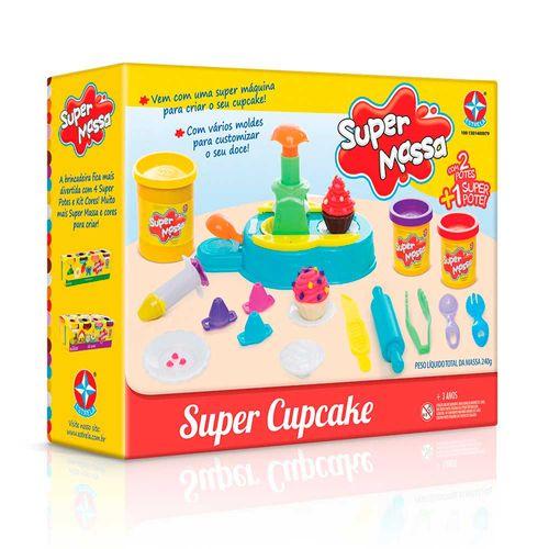 Massinha Super Massa Super Cupcake Embalagem Estrela