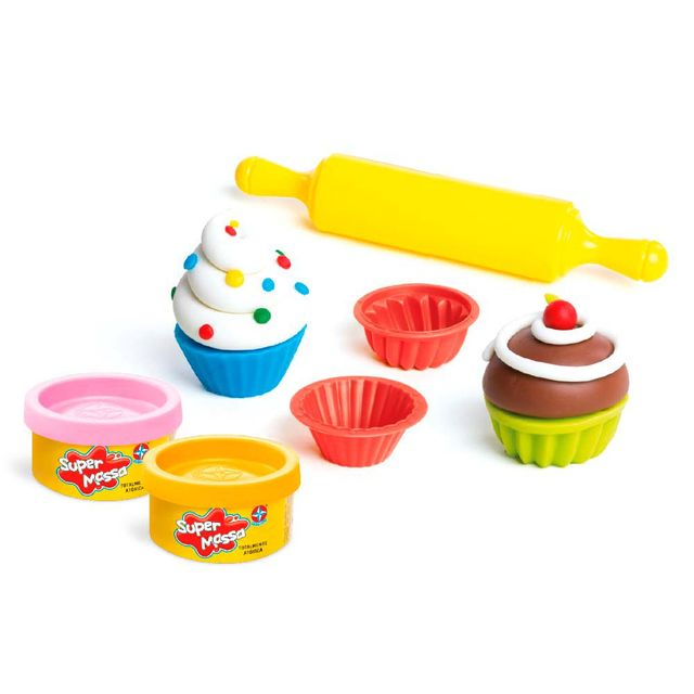 Massinha Super Massa Mini Cupcakes Produto Estrela