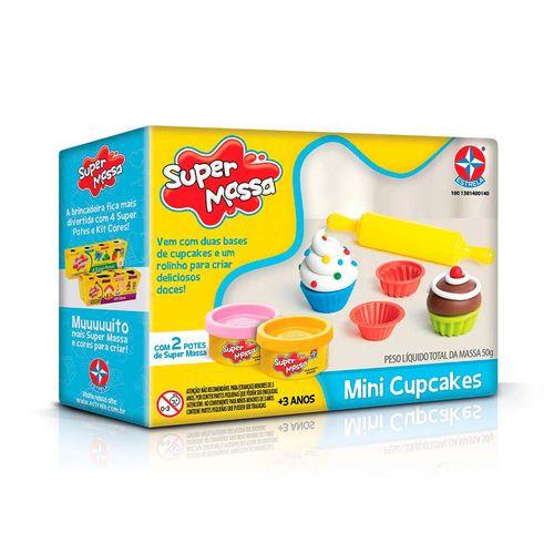 Massinha Super Massa Mini Cupcakes Embalagem Estrela