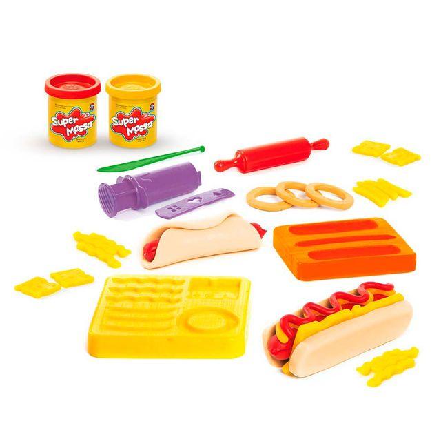 Massinha Super Massa Hot Dog Produto Estrela
