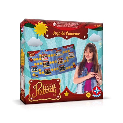 Jogo do Contente As Aventuras de Poliana Embalagem Estrela