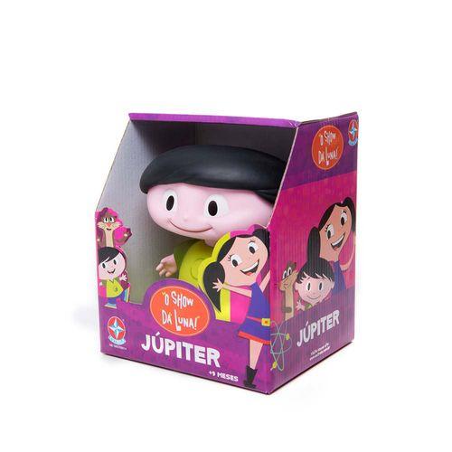 Boneco Júpiter de vinil O Show da Luna 16 cm Embalagem Estrela