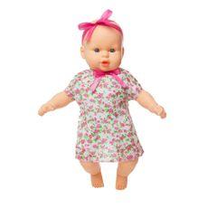 Boneca Colinho da Mamãe vestido florido que canta 43 cm Produto Estrela