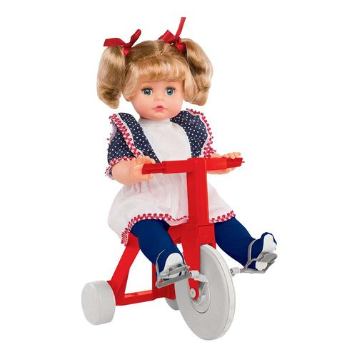 Boneca Tippy com triciclo 48 cm Produto Estrela