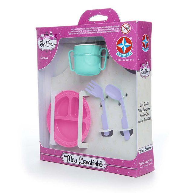 Acessórios para bonecas Coleção Fru Fru Meu Lanchinho Embalagem Estrela