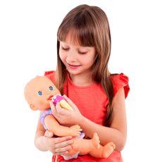 Boneca Hora de Papá que fala 37 cm com criança Produto Estrela