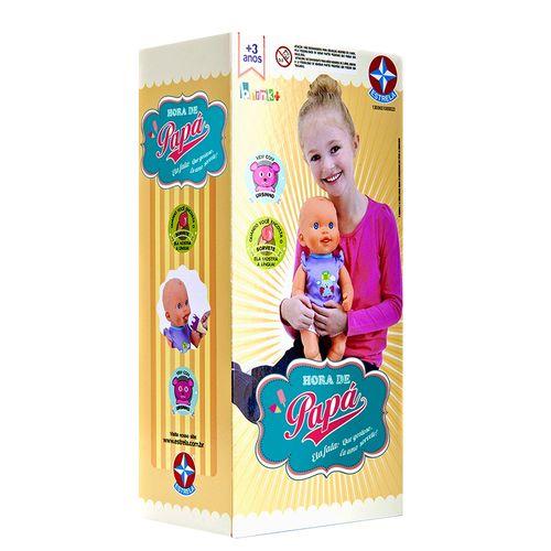 Boneca Hora de Papá que fala 37 cm Embalagem Estrela